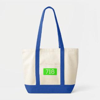 718 new york tote bag