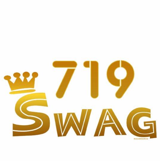 719 Area Code Swag Statuette