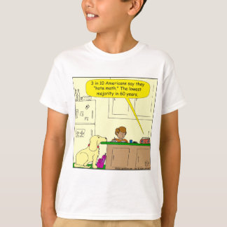 719 hate math cartoon T-Shirt