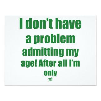 71 admita mi edad comunicado personalizado