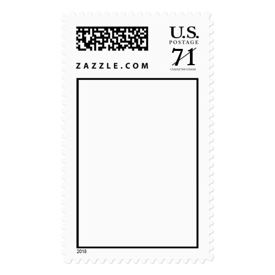 Cent Postage Stamp Template Vertical Large  ZazzleCom