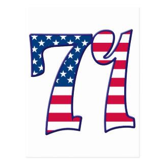 71 edad los E.E.U.U. Postal