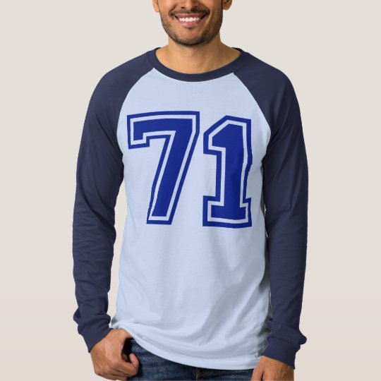 71 - number T-Shirt