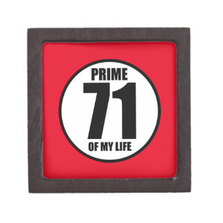 71 - prime of my life keepsake box