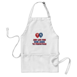 71 year old birthday gifts adult apron