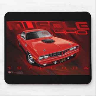 71Cuda11x17-new Mouse Pads