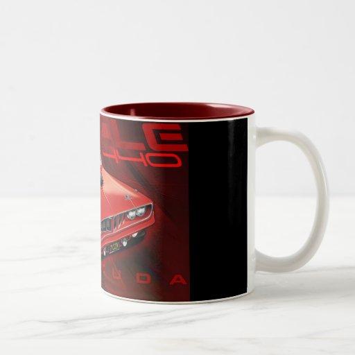 71Cuda11x17-new Two-Tone Coffee Mug