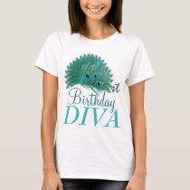 71st Birthday Diva Shirts