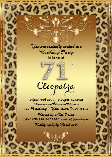 Number 12 Gold Gifts Invitations Stationery