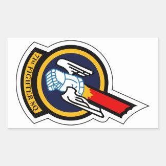 71st Fighter Squadron - Obsolete Rectangular Sticker