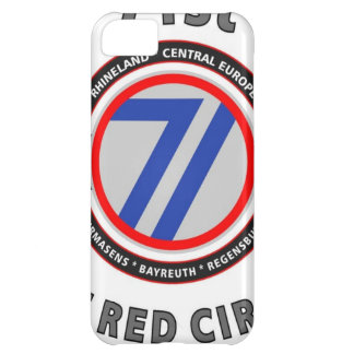 "71ST INFANTRY DIVISION ""THE RED CIRCLE"" COVER FOR iPhone 5C"