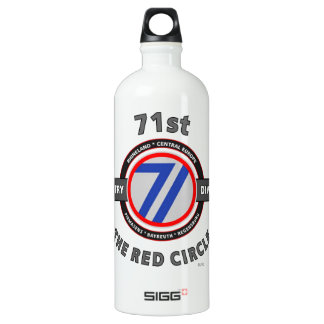"71ST INFANTRY DIVISION ""THE RED CIRCLE"" WATER BOTTLE"
