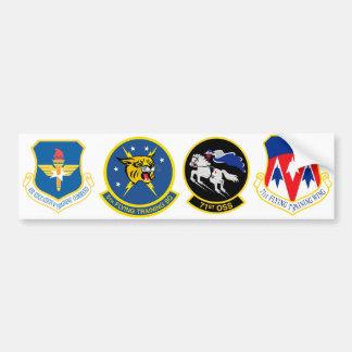 71st Squadron Logos Car Bumper Sticker
