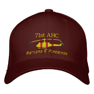 71stAHC Vietnam UH1 Embroidered Hat