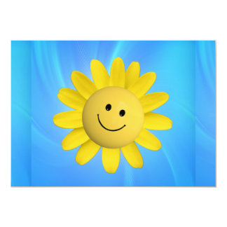 720227 HAPPY SUN FLOWER SMILIE FACE CARTOON GRAPHI CARD