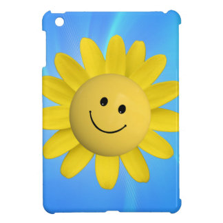 720227 HAPPY SUN FLOWER SMILIE FACE CARTOON GRAPHI CASE FOR THE iPad MINI