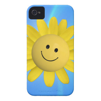 720227 HAPPY SUN FLOWER SMILIE FACE CARTOON GRAPHI Case-Mate iPhone 4 CASE