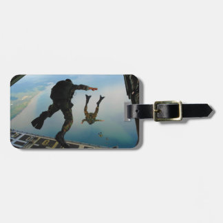 720h Special Tactics Group Jumping Out of Planet Luggage Tag