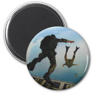 720h Special Tactics Group Jumping Out of Planet 2 Inch Round Magnet