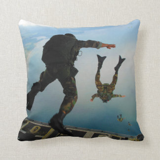 720h Special Tactics Group Jumping Out of Planet Throw Pillow