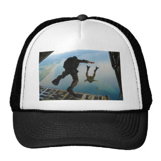 720h Special Tactics Group Jumping Out of Planet Trucker Hat