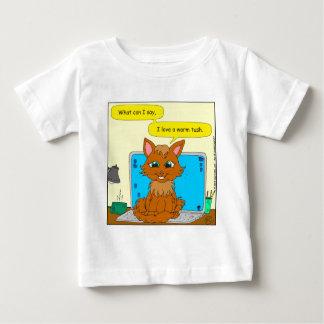 721 warm tush cat cartoon shirt
