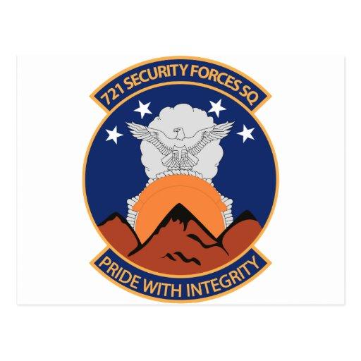 721o Escuadrilla de las fuerzas de seguridad Postales