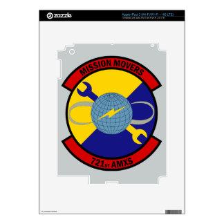 721st Aircraft Maintenance Squadron Skin For iPad 3