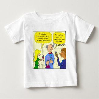 722 protons neutrons and electrons cartoon infant t-shirt