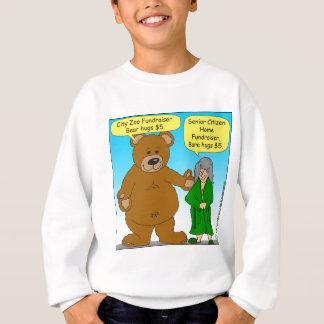 725 Bear bare fundraiser cartoon Sweatshirt