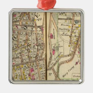 7273 Tuckahoe, East Chester Metal Ornament