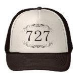 727 Area Code Hats