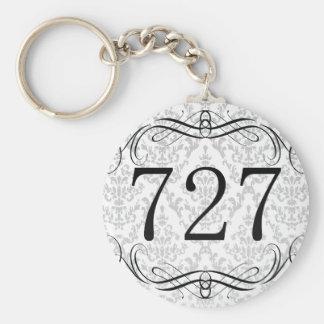 727 Area Code Keychain