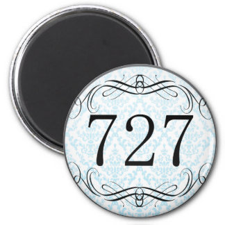 727 Area Code Fridge Magnets