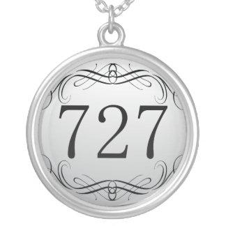 727 Area Code Pendants