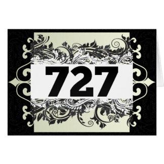 727 GREETING CARD