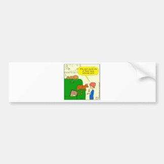 727 Funny internet cat cartoon Bumper Sticker