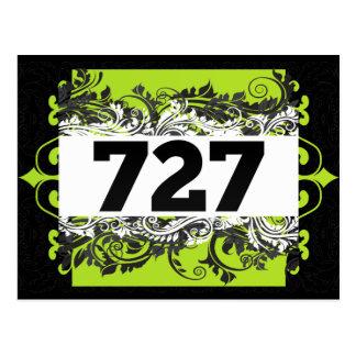 727 POSTCARD