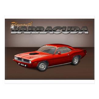 72-74 Barracuda Postcard