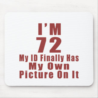 72 Birthday Designs Mouse Pad