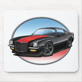 72 Black R Camaro.png Mouse Pad