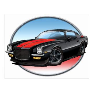 72 Black R Camaro.png Post Cards