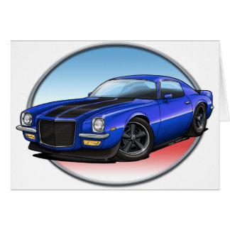 72 Blue B Camaro.png Card