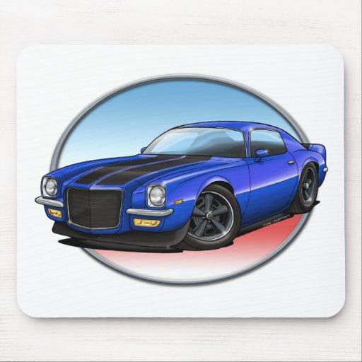 72 Blue B Camaro.png Mousepads