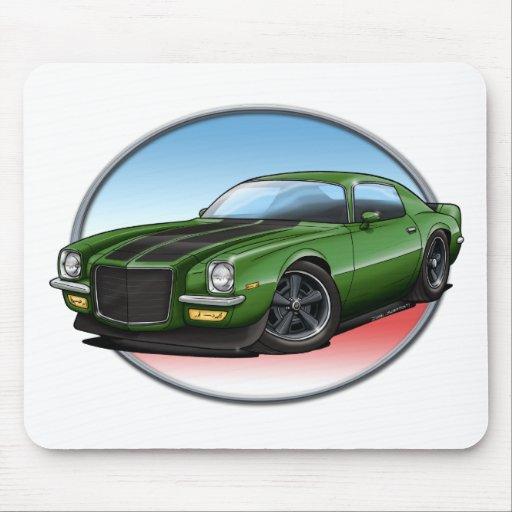 72 Green B Camaro.png Mousepads