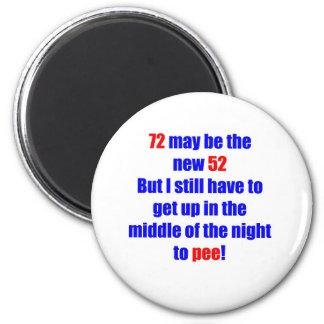 72 nuevos 52 imán redondo 5 cm