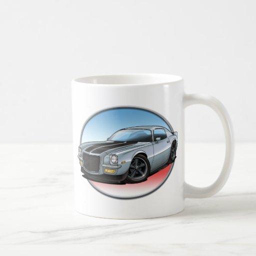 72 Silver Camaro.png Mug