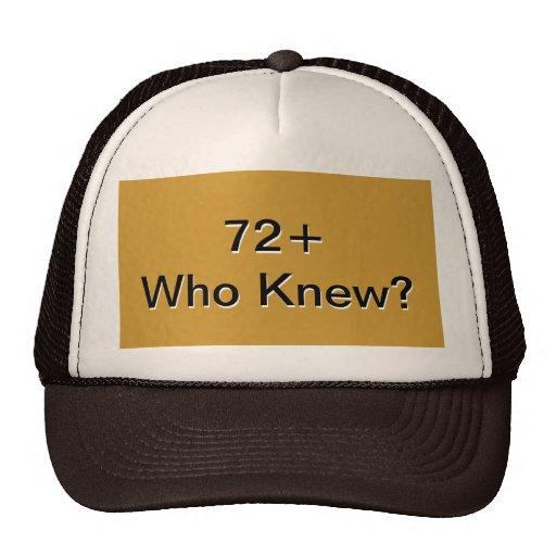 72+ TRUCKER HAT
