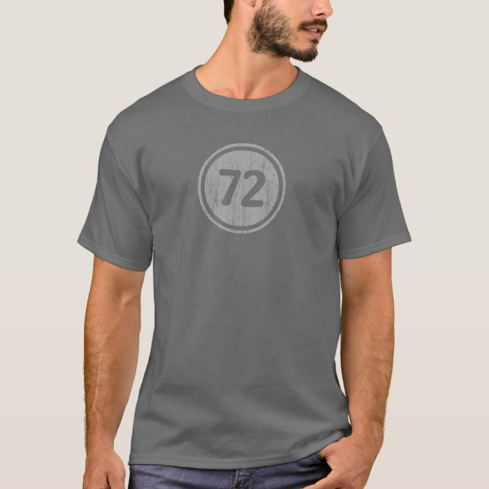 #72 vintage gray T-Shirt