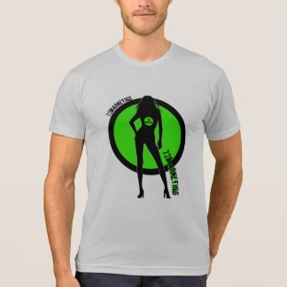 72marketing Sexy Silhouette Mens Shirt Logo